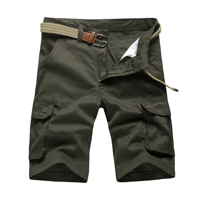 2017 New Arrival High Quality Plus Size 29-46 Mens Casual Shorts Men's Camouflage Loose Cargo Shorts Mens Multi-Pocket Shorts