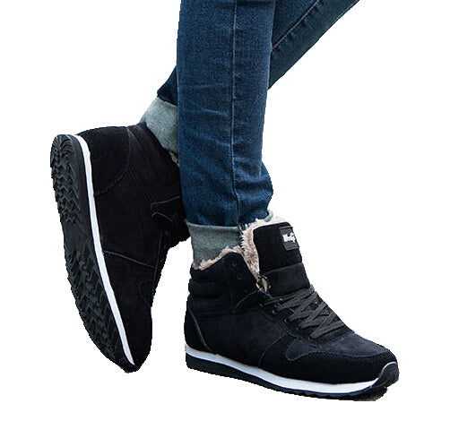 2017 New Fashion Men Snow Boots Plush Super Warm Suede leather Boots Men boots Work Shoes Outdoor lover Winter shoes ST13