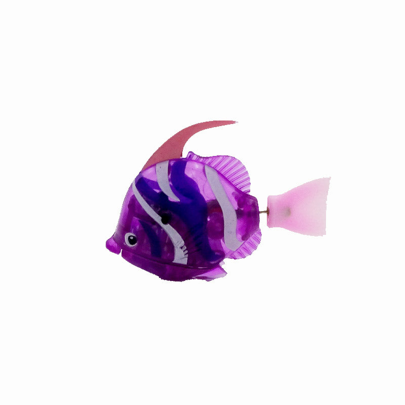 2017 New Funny Swimming Electronic Robofish Activated Battery Powered Robo Toy fish Robotic Pet for Fishing Tank Decorating toys