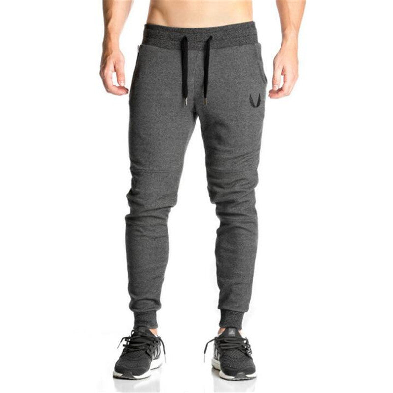 2017 New High Quality Jogger Pants Men Fitness Bodybuilding Gyms Pants For Runners Clothing Autumn Sweat Trousers Britches