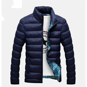 2017 New Jackets Parka Men Hot Sale Quality Autumn Winter Warm Outwear Brand Slim Mens Coats Casual Windbreak Jackets Men M-4XL