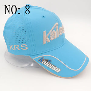 2017 New Kaiersn golf Professional hat cotton golf ball cap High Quality sports golf hat breathable sports golf hats with Mark