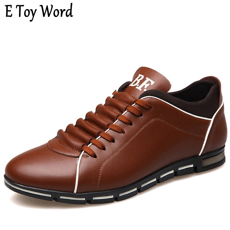 2017 New Luxury Brand Men Shoes England Trend Casual Leisure Shoes Leather Shoes Breathable For Male Footear Loafers Men's Flats