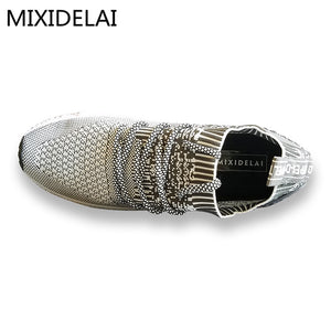 2017 New Spring Summer Men's Casual Shoes Cheap chaussure homme Korean Breathable Air Mesh Men Shoes Zapatos Hombre Size 39-46