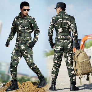 2017 New arrival Camouflage Sets Military fans Tactical Suit Equipment Military Clothing Combat Uniform,Jackets+Pants