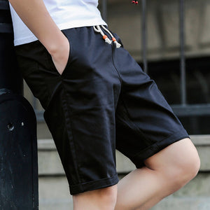 2017 Newest Summer Casual Shorts Men cotton Fashion Style Mens Shorts bermuda beach Black Shorts Plus Size M-5XL short For Male