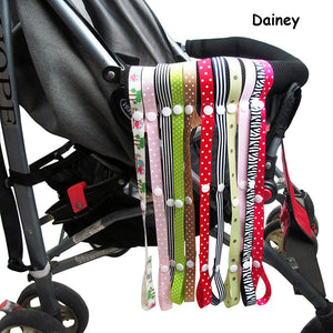 2017 Pacifier Chain Stroller Accessory Strap HolderToys Saver Fixed Bind Belt Toy Baby Anti-Drop Hanger Belt Lanyard Car Seat