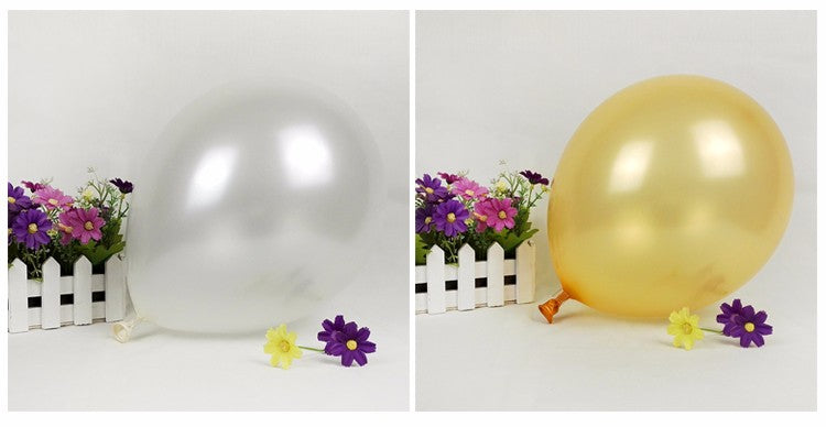 2017 Promotion Juguetes 1pcs 10 Inch Inflatable Ball Novetly Wedding Party Decoration Latex balloons