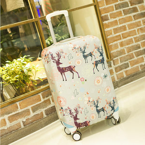 2017 SAFEBET Luggage Cover Independent Cartoon Printing Elasticity Dustproof Trolley Case Travel Accessories