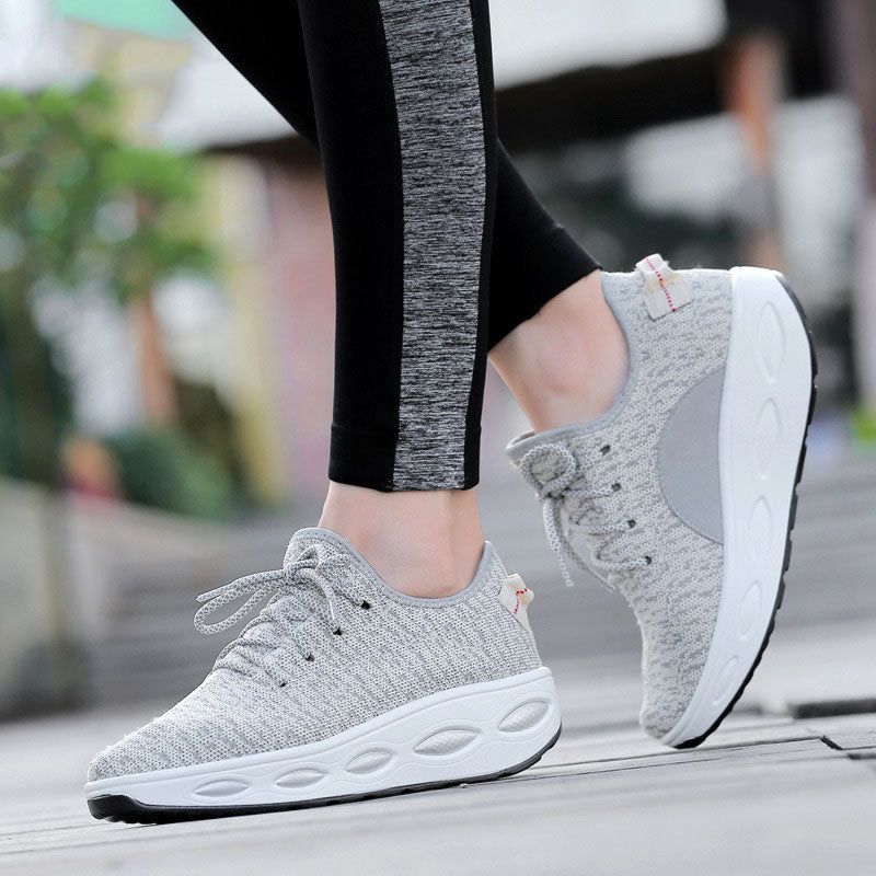 2017 Shoes Woman Chaussure Femme Trainers Women Shoes Platform Creepers Women Casual Shoes Platform Tenis Feminino Black