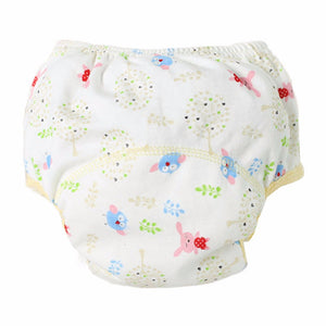 2017 Soft Baby Nappies Baby Cotton Training Pants Reusable Cloth Diaper Washable Nappies LABS Pants 7 Colors Dropshipping