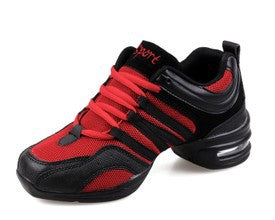 2017 Sports Feature Soft Outsole Breath Dance Shoes Sneakers For Woman Practice Shoes Modern Dance Jazz Spring Summer sneakers