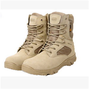 2017 Winter outdoor military boots men's special forces combat boots tactical boots desert boots Delta high to help wear militar
