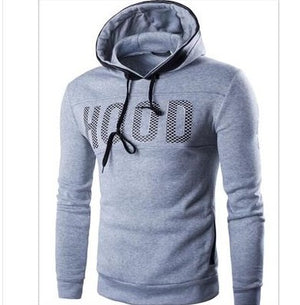 2017 autumn New Arrival High Grade Brand Design Sportswear Men Sweatshirt Male Hooded Hoodies Printed Pullover Hoody sell well