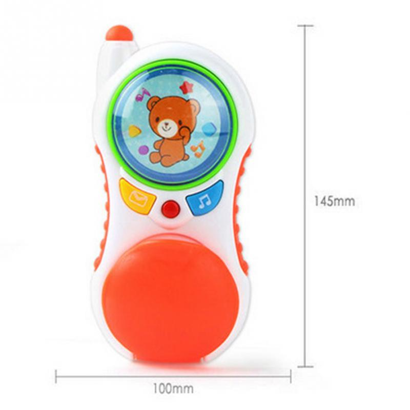 2017 baby toys with sound and light / Child music phone / Learning Study Baby cell phone toy / Educational toy promotion