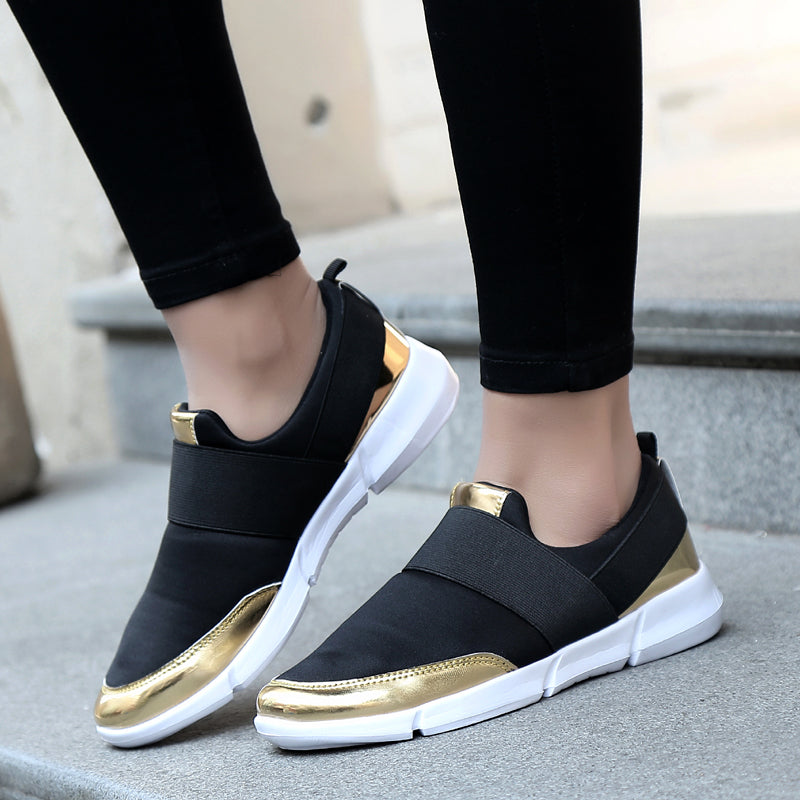 2017 brand mesh breathable Summer shoes women loafers Slip on casual Shoes ultralight flats shoes New zapatillas shoes size35-42