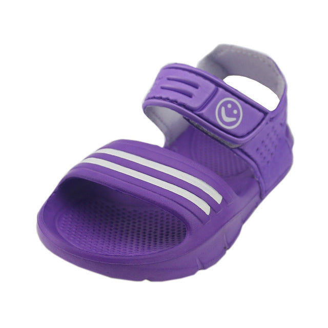 2017 new baby boys and girls summer sandals sandals shoes wear non slip waterproof soft and comfortable all-match cute little bo