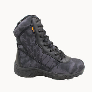 2017 new menmilitary boots camouflage and black tactical combat boots asker bot men kamuflaj bot army shoes men climbing shoes