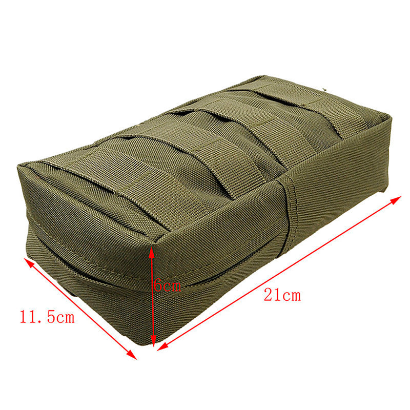 21X11.5cm NEW Multi-Purpose Tactical MOLLE EDC 600D Nylon Utility Gadget Pouch Tools Waist Bags Outdoor Pack