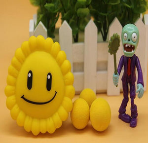 26styles New Popular Game PVZ Plants vs Zombies Peashooter PVC Action Figure Model Toys 10CM Plants Vs Zombies Toys