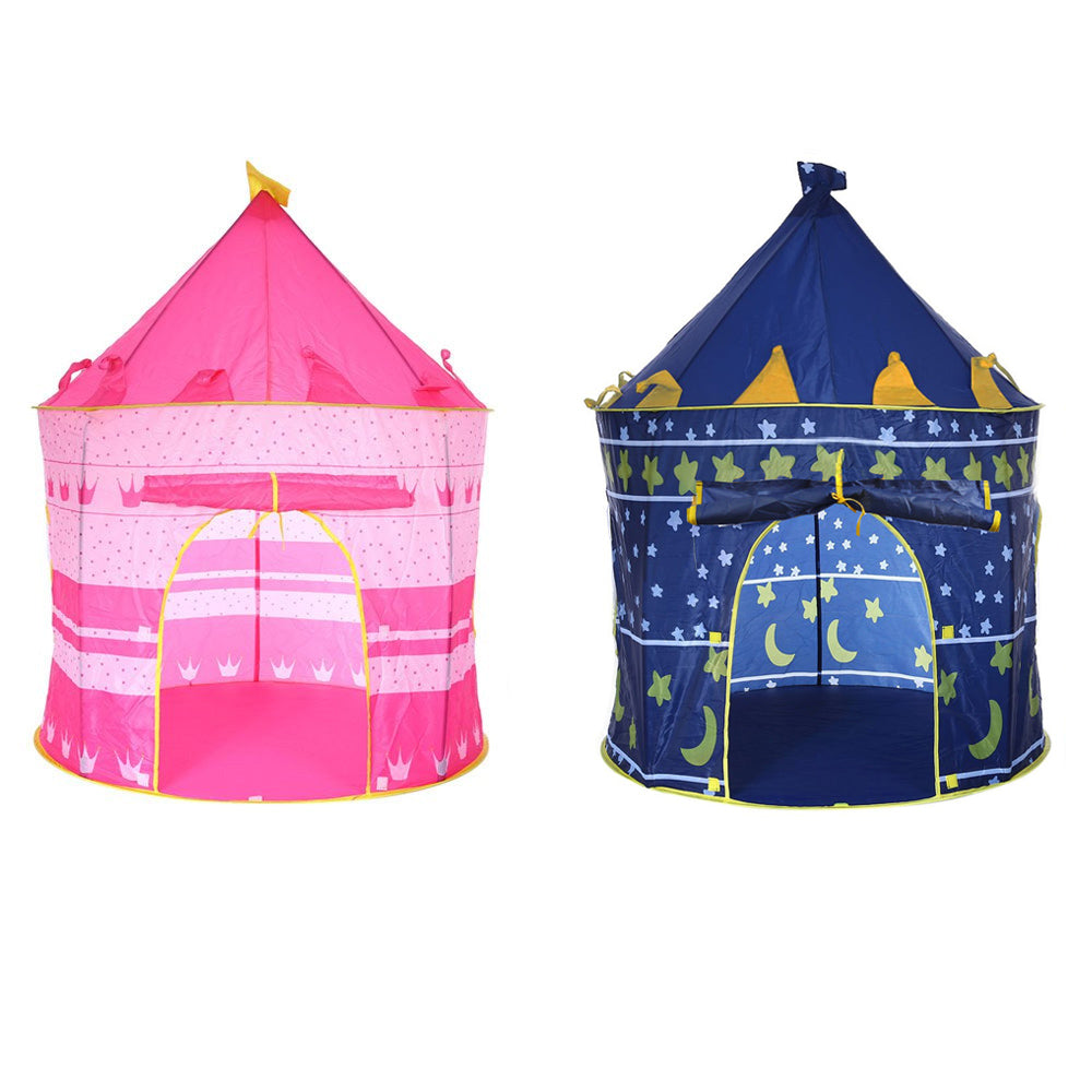 3 Colors Play Tent Portable Foldable Tipi Prince Folding Tent Children Boy Castle Cubby Play House  sc 1 st  Cerkos.com & 3 Colors Play Tent Portable Foldable Tipi Prince Folding Tent ...