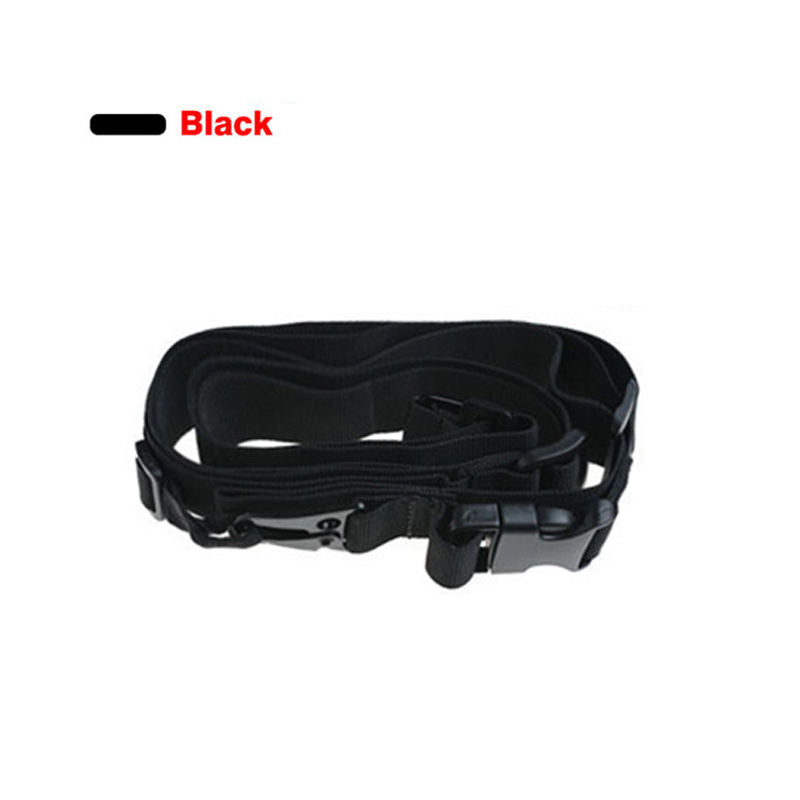 3 Point Airsoft Hunting Belt Tactical Military Elastic Gear Gun Sling Strap Outdoor Camping Survival Sling Multifunctional Strap