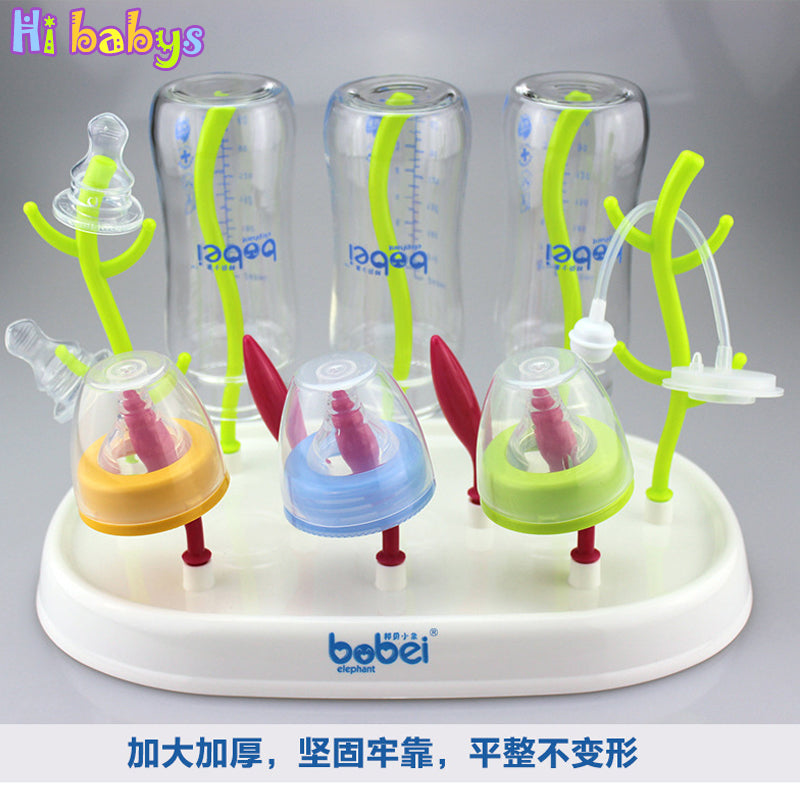 3 Style Baby Bottle Drying Rack Baby Feeding Bottles Cleaning Drying Rack Storage Nipple Shelf Baby Pacifier Feeding Cup Holder