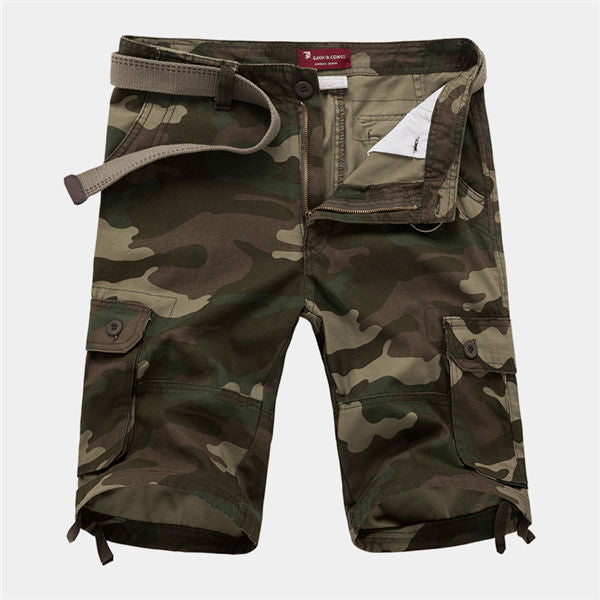 30-42 New 2017 Men Shorts Military Shorts Cargo Camo Shorts Casual Fashion Baggy Tactical Army Camouflage Shorts Cheap Plus Size