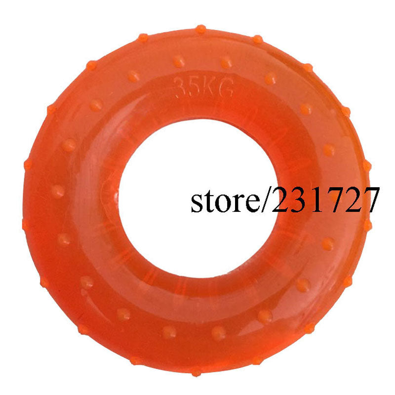 35KG Strength Hand Grip Muscle Power Training Rubber Easy Carrier Hand Grips Fitness Rubber Ring Exerciser Expander Gripper