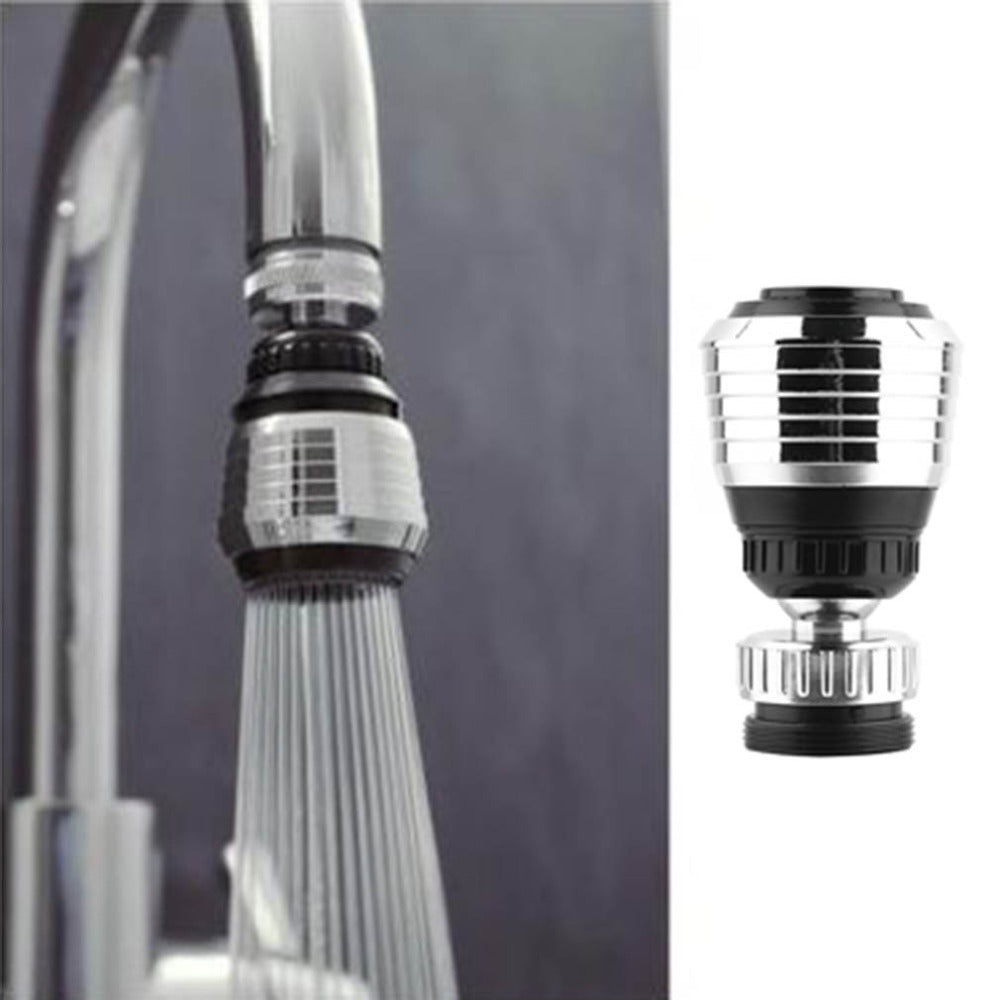 360 Rotate Swivel Faucet Nozzle Filter Adapter Water Saving Tap Aerator Diffuser Bathroom Kitchen Accessories