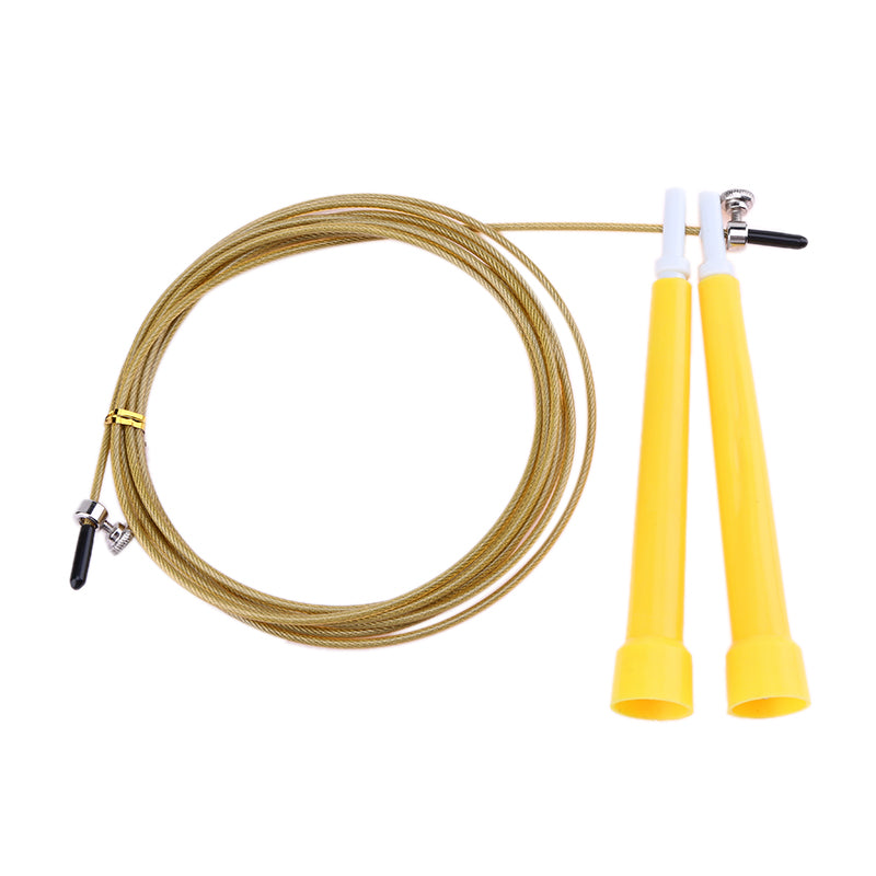 3M Jump Skipping Ropes Cable Steel Adjustable Fast Speed ABS Handle Jump Ropes Crossfit Training Boxing Sports Fitness Exercises
