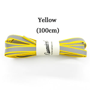 3M Reflective Laces High Visibility Shoe Laces Safety Luminous Glowing Shoelaces in the dark 100cm