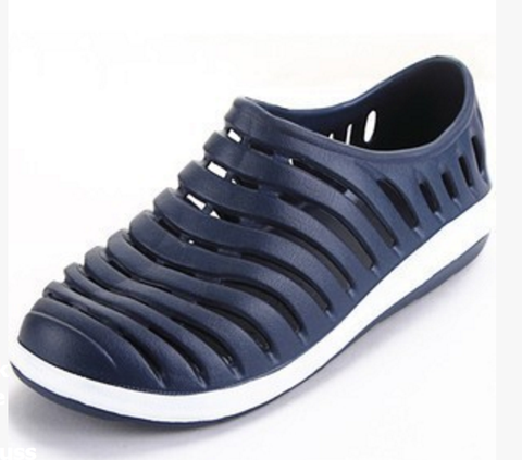 Dose Sandals: Mens Sandal Shoes, Casual Shoes Flats Slip on Sports Rubber Beach Shoes for Men - Cerkos.com