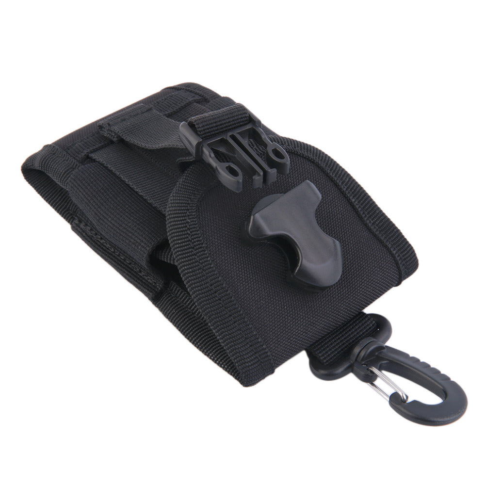 4.5 inch Oxford Universal Army Tactical Bag for Mobile Phone Hook Cover Pouch Case Hard Wearing Heavy Duty free shipping
