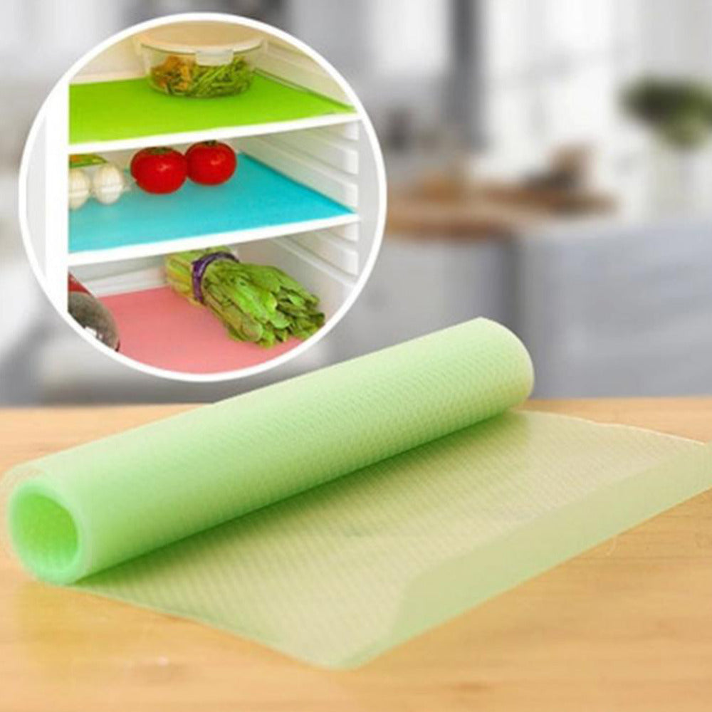 4 pcs/set Fashion Refrigerator pad Antibacterial antifouling Mildew Moisture absorption Pad Refrigerator Mats Fridge Magnet