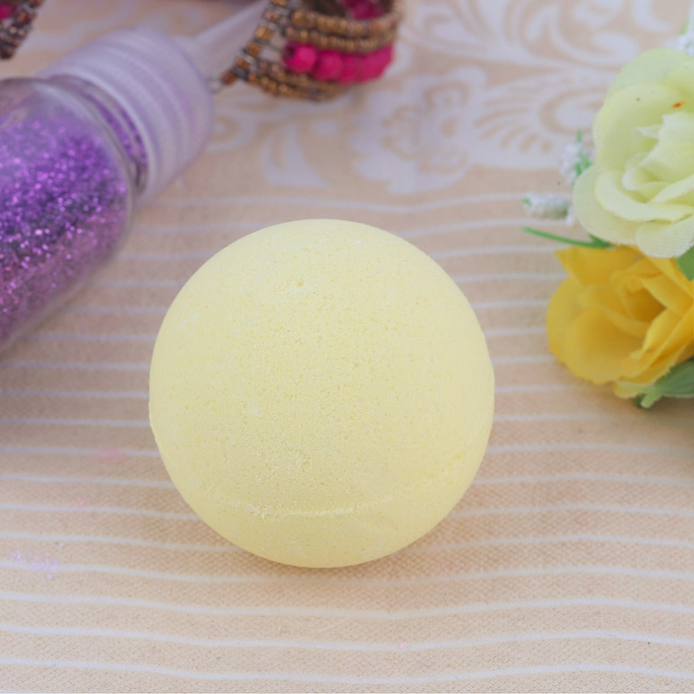 40G Small Size Home Hotel Bathroom Bath Ball Bomb Aromatherapy Type Body Cleaner Handmade Bath Salt Bombs Gift