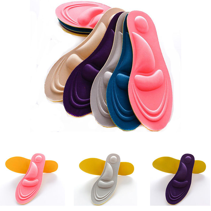 4D Sport Sponge Soft Insole High Heel Shoe Pad Pain Relief Insert Cushion Pad