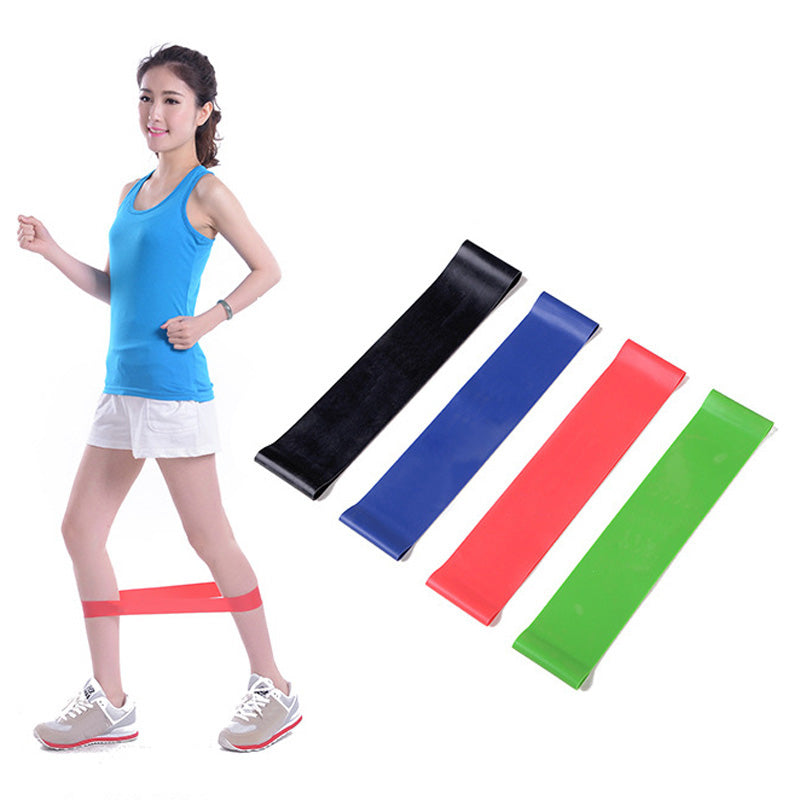 4Pcs 50* 5CM Resistance Bands Yoga Fitness Training Natural Latex Rubber Fitness Gym Strength Practical elastico para exercicios