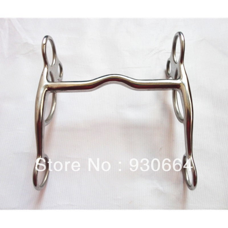 "5 1/4""Mouthpiece Stainless Steel Western Bit Horse Equipment Versatile Bit Horse Tack Equine (H0854 )"