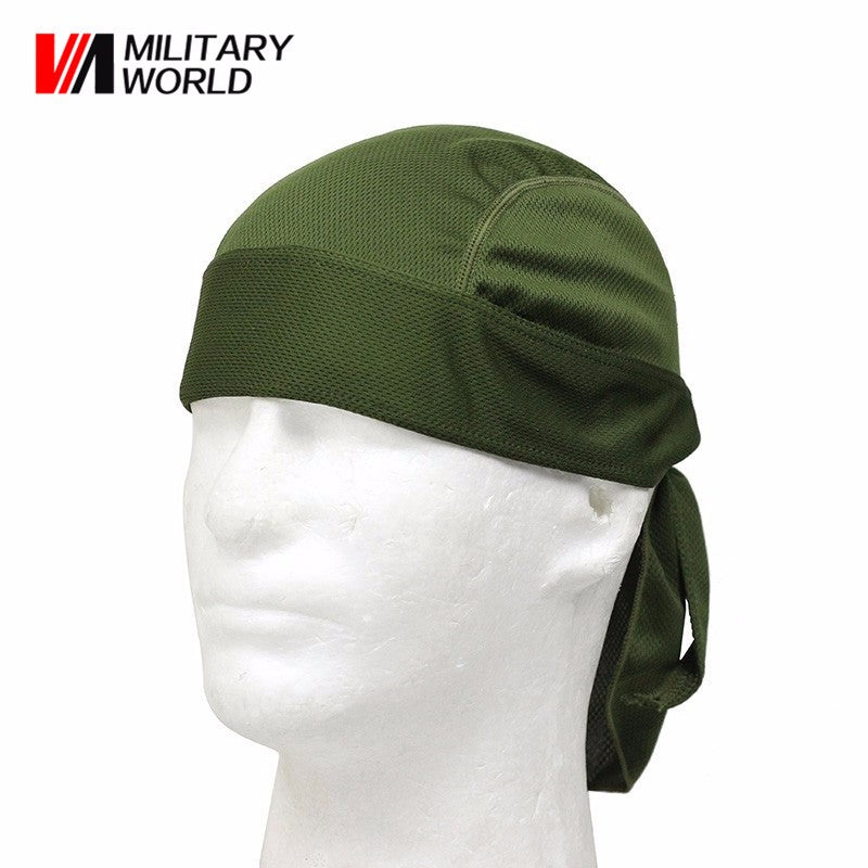 5 Color Outdoor Sports Quick Dry Cycling Cap Headscarf Headband Bicycle Cap Men Riding Bandana Pirate Hat Free Shipping$