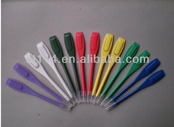 5000 pieces hot sale top quality per a lot hot sale golf plastic pencils