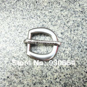 50PCS/Lot Stainless Steel Pin Buckle Heel Buckle Wholesale Price Inside Width 20mm W019