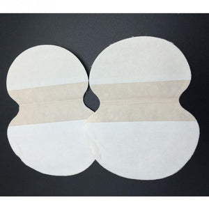 50pcs Non-woven fabrics Underarm Armpit Sweat Pads Shield Guard Absorbing Absorbent Disposable Anti Perspiration Odour