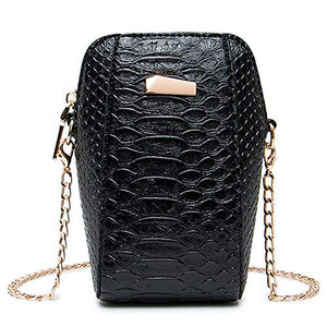 Lryc Crossbody Phone Purse (S, Black)