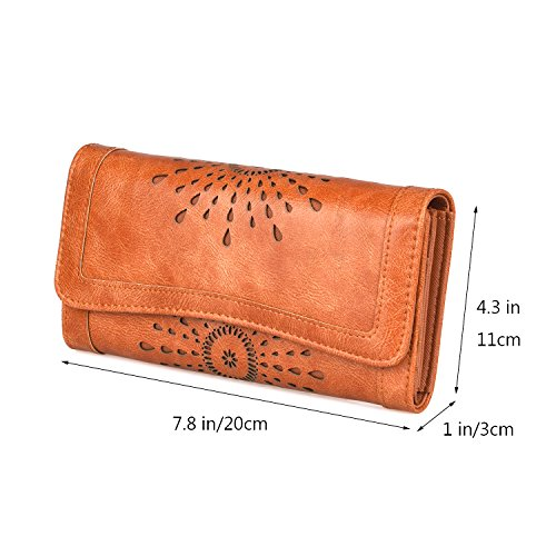 Forestfish Ladies's Wallet Vintage Hollow Women Small Purse Bag