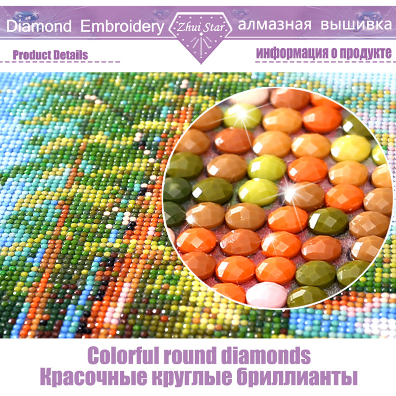 5D DIY Diamond Painting! Private custom! Photo Custom! Make Your Own Diamond Painting Full Drill Diamond Rhinestone Embroidery