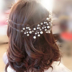5Pcs Simulate Pearl Hairpins Hairstyles Wedding Bridal Hair Pins Hair Jewelry Accessories Hairwear Girls Hair Clips For Women