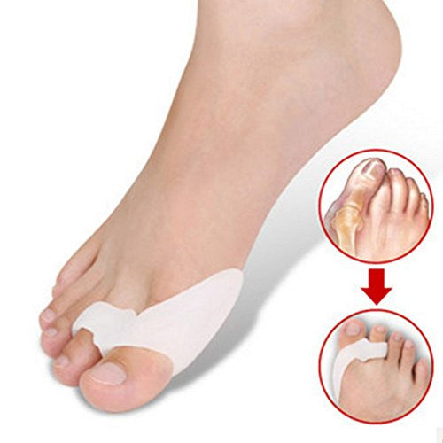 Cerkos Gel Toe Separators Stretchers Bunion Spacers Straightener Corrector Alignment