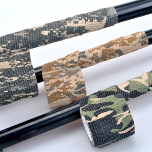 5cmx4.5m Army Camo Outdoor Hunting Shooting Tool Camouflage Stealth Tape Waterproof Wrap Durable camouflage tape