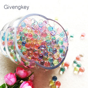 600pcs Gun Pistol Water Bullets Crystal Soft Bullet Paintbal Toy Infrared Shooting Balls Soil Water Beads Jelly